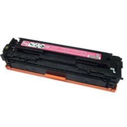 Purpurová tonerová kazeta CB543A (125A MAGENTA). Vytiskne přibližně 1400 stran A4 při 5% pokrytí.