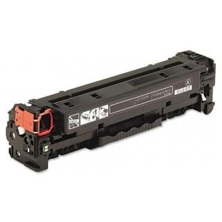 Černá tonerová kazeta CC530A (304A). Vytiskne přibližně 3500 stran A4 při 5% pokrytí.