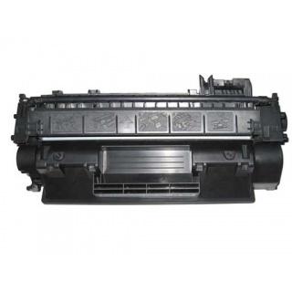 Černá tonerová kazeta CE505A kompatibilní. Vytiskne přibližně 2300 stran A4 při 5% pokrytí.