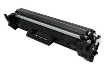 HP CF217A - kompatibilní. Černá tonerová kazeta 17A CF217A. Vytiskne přibližně 1600 stran