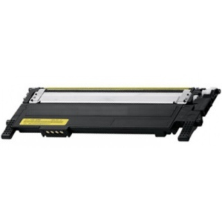 Žlutá tonerová kazeta CLT-Y406S (Y406) kompatibilní. Vytiskne přibližně 1000 stran A4 při 5% pokrytí.