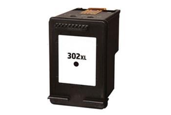 F6U68AE (302XL BK) inkoustová kazeta NEW CHIP, barva náplně černá, 480 stran