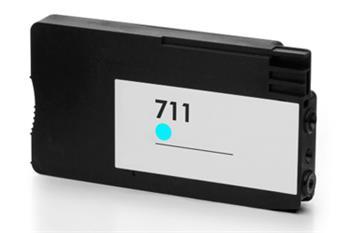 HP CZ130A - kompatibilní, CZ130A (No:711) CYAN inkoustová kazeta PATENT OK