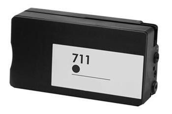 HP CZ133A - kompatibilní, CZ133A (No:711XL) BLACK inkoustová kazeta PATENT OK