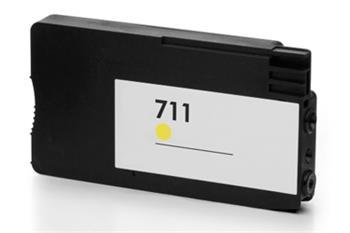 HP CZ132A - kompatibilní, CZ132A (No:711) YELLOW inkoustová kazeta PATENT OK