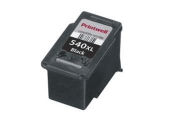 Černá inkoustová kazeta PG-540XL (No:540XL) kompatibilní. Vytiskne přibližně 600 stran A4 při 5% pokrytí.