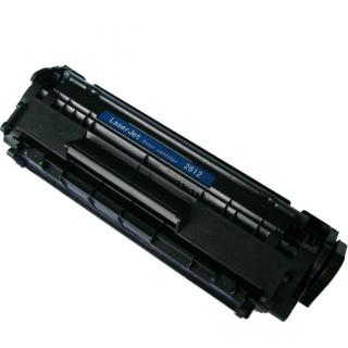 HP Q2612A - kompatibilní. Černá tonerová kazeta Q2612A. Vytiskne přibližně 2000 stran A4 při 5% pokrytí.
