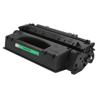 Černá tonerová kazeta Q7553X kompatibilní. Vytiskne přibližně 7000 stran A4 při 5% pokrytí.
