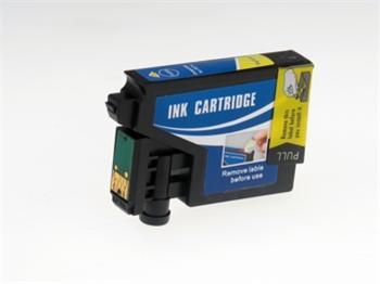 Žlutá inkoustová kazeta T0614 kompatibilní inkoustová.