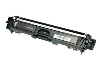 Černá tonerová kazeta TN-241BK kompatibilní. Vytiskne přibližně 2500 stran A4 při 5% pokrytí.
