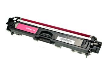 Purpurová tonerová kazeta TN-245M kompatibilní. Vytiskne přibližně 2200 stran A4 při 5% pokrytí.