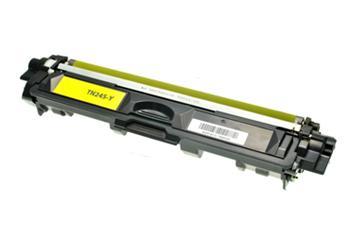 Žlutá tonerová kazeta TN-245Y kompatibilní. Vytiskne přibližně 2200 stran A4 při 5% pokrytí.